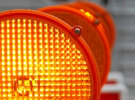 Safety amber light