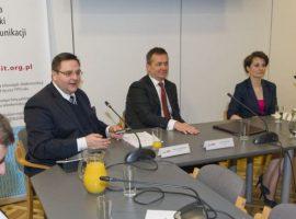 Wojciech Dziomdziora na konferencji GIODO & PIIT dotyczącej danych osobowych