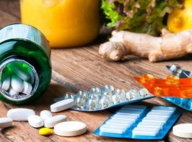 Choice between vitamins from supplements or from vegetables and fruits