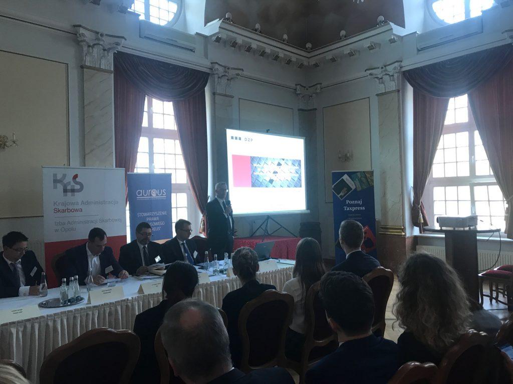 DZP wśród uczestników Ogólnopolskiej IX Opolskiej Konferencji Podatkowej w Izbicku