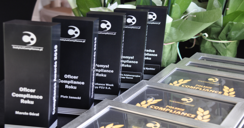 Wręczenie nagród Compliance Awards 2019